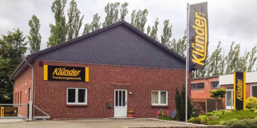 Klünder Trocknungstechnik GmbH Standort Flensburg Niederlassung